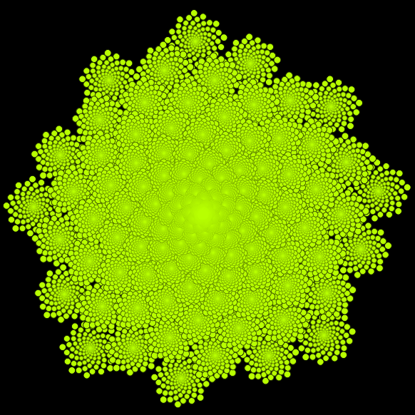 romanesco computer generated